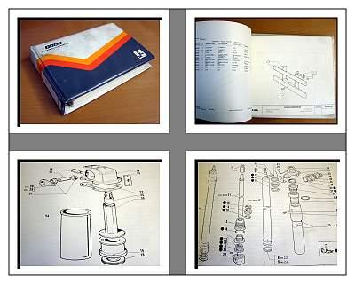 fiat om g15 g18 g20 chariot l vateur catalogue de pi ces de rechange 1992 ebay. Black Bedroom Furniture Sets. Home Design Ideas