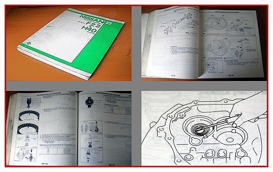 Nissan Cabstar F22 H40 Werkstatthandbuch Service Manual