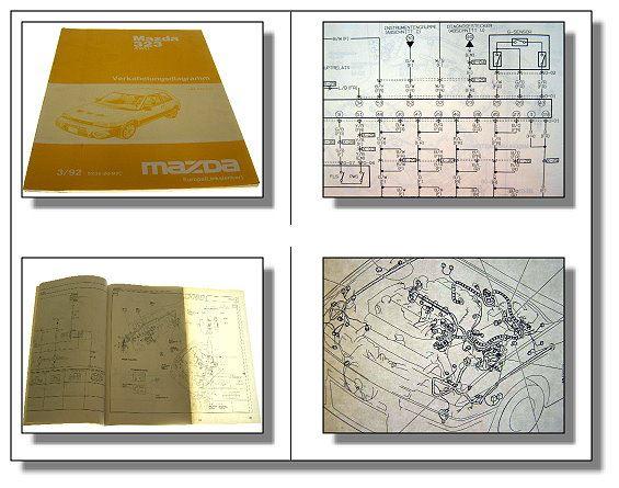 Mazda 323 4wd Schematic Wiring Diagrams Electrics Type Bg