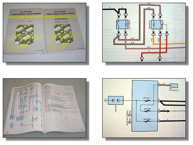 Workshop Manual Toyota Yaris Echo Verso Ncp2 Nl Wiring