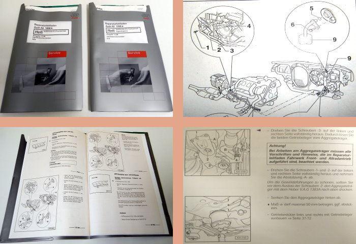 Service & Reparaturanleitungen Werkstatthandbuch Audi A6 C5 ...