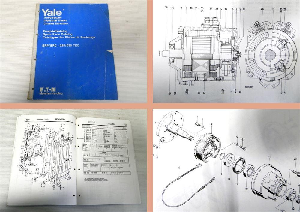 Fein Yale Gabelstapler Schaltplan Ideen - Elektrische Schaltplan ...