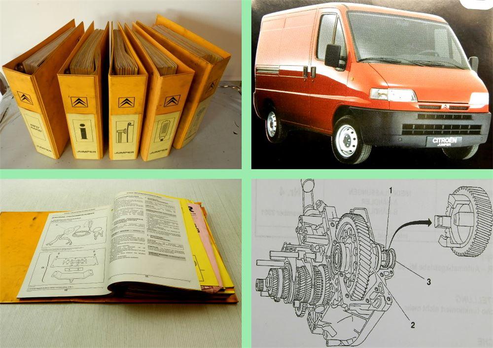 reparaturanleitung citroen jumper 1 2 werkstatthandbuch. Black Bedroom Furniture Sets. Home Design Ideas