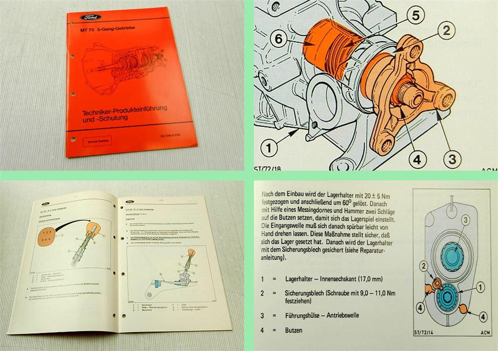 Kostenlose 1989 Ford Escort Motor Handbuch