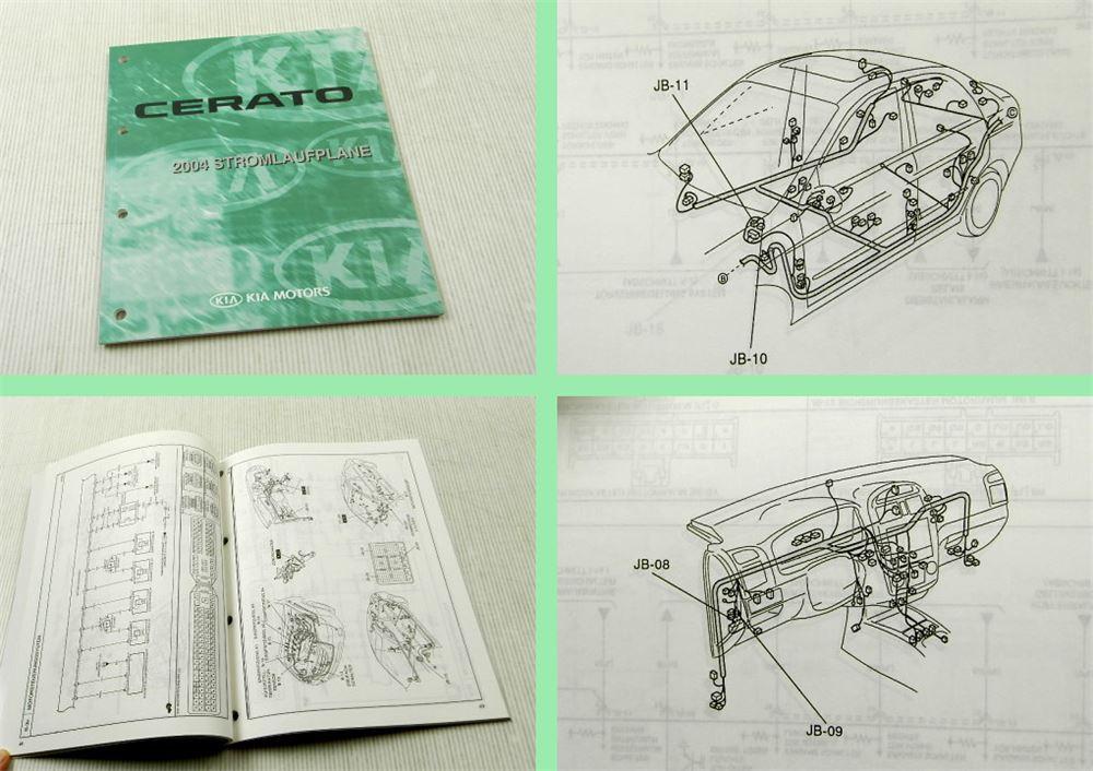 Werkstatthandbuch Kia Cerato 2004 Stromlaufpläne Elektrik | eBay