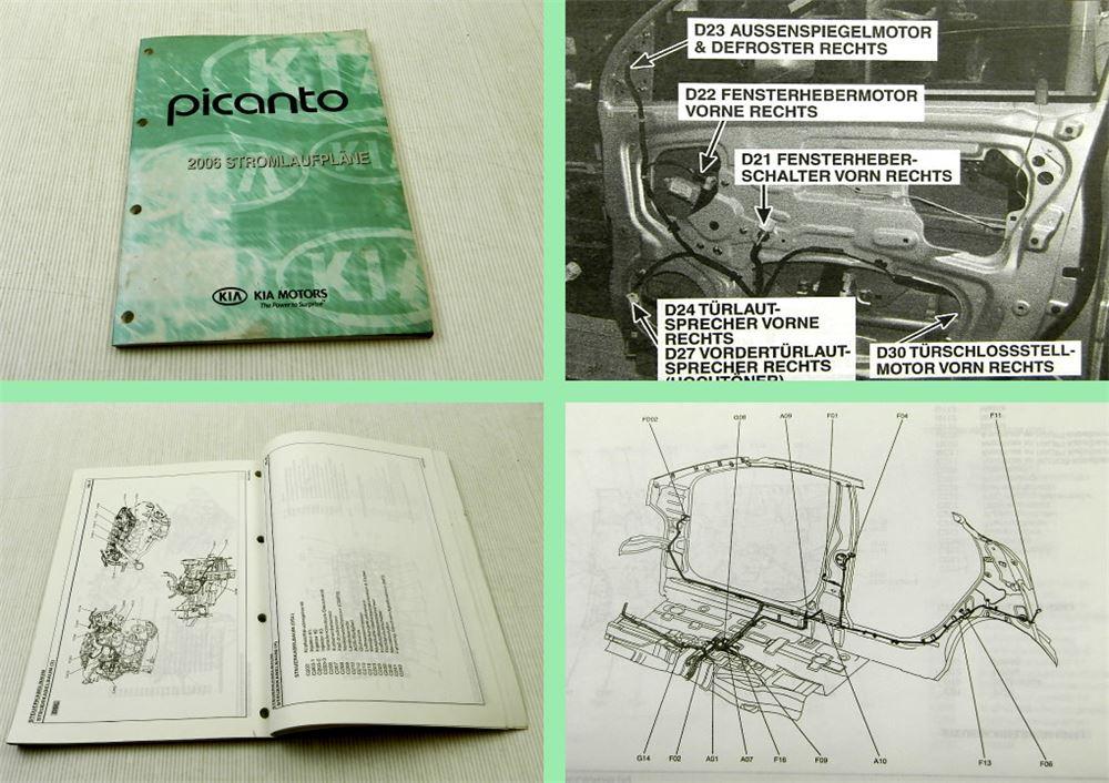 Kia Picanto 2006 Stromlaufpläne Elektrik Schaltplan ...
