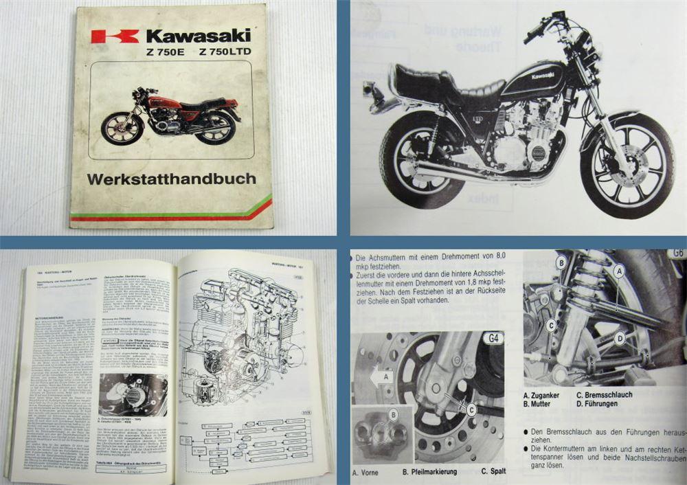 Fantastisch 1983 Kawasaki Motorradschaltpläne Ideen - Elektrische ...