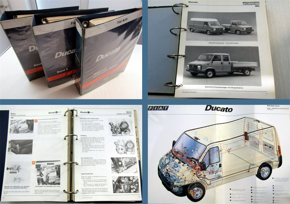 werkstatthandbuch fiat ducato ii typ 230 reparaturanleitung stand 2000 ebay. Black Bedroom Furniture Sets. Home Design Ideas
