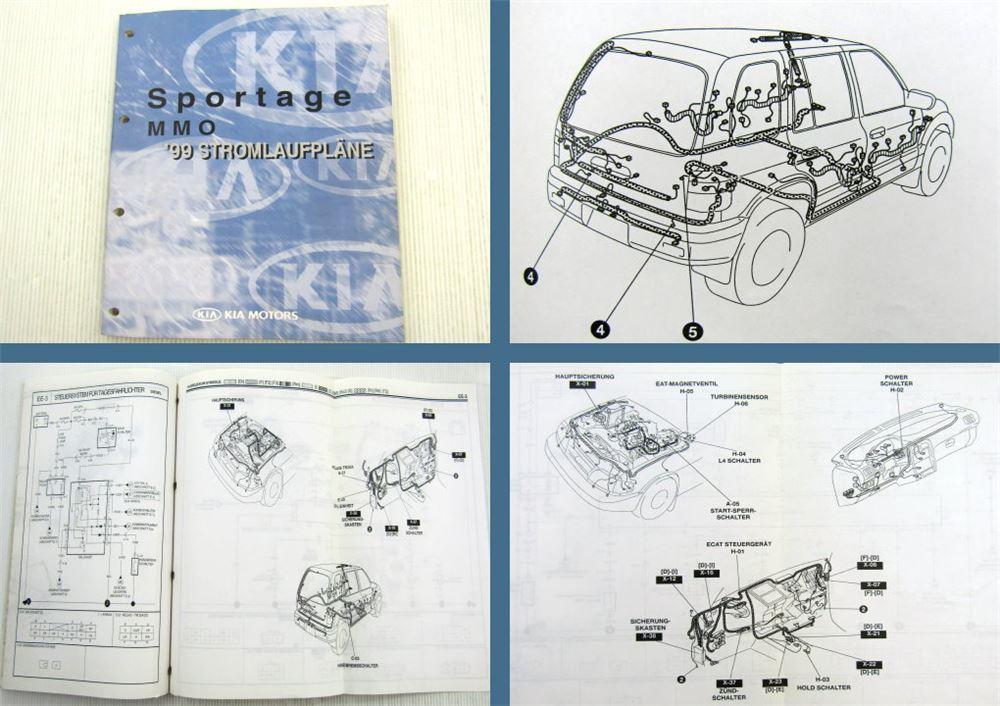 Kia Sportage MMO 1999 Stromlaufplan Elektrik Schaltplan ...
