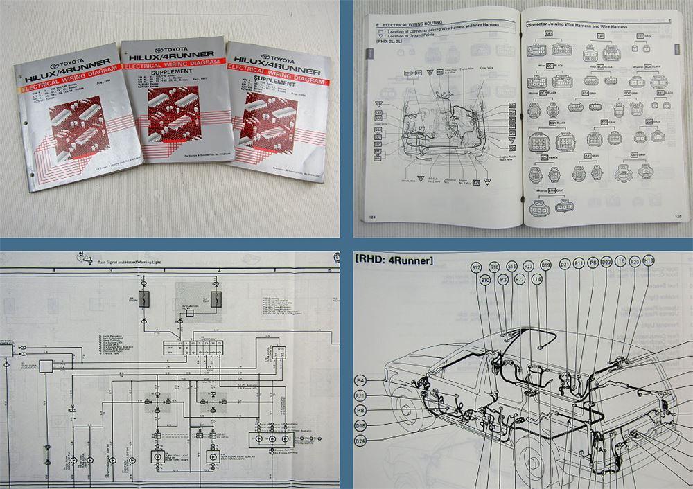 Toyota Hilux 4 Runner Wiring Diagrams Electrics Wiring Diagrams Manual 1991