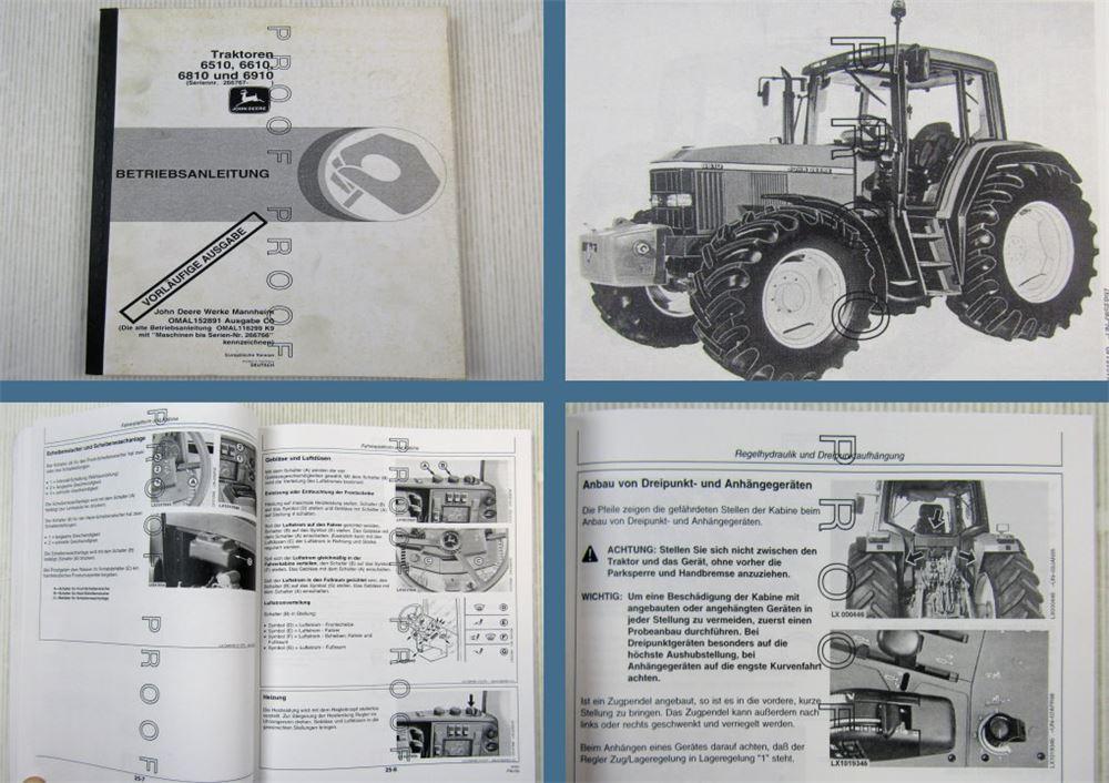 JOHN DEERE Traktoren Mannheim Modelle Typengeschichte Technik Schlepper Buch