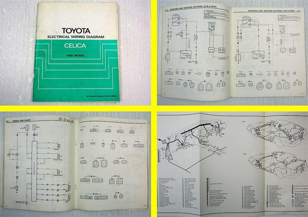 Toyota Celica Ra60 61 63 Ta60 Schaltplan Elektrik Wiring
