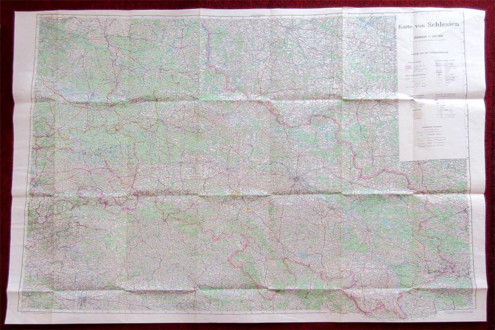 Details Zu Schlesien Landkarte Schlesische Mundart Gedichte Geschichten Bildband Spiele
