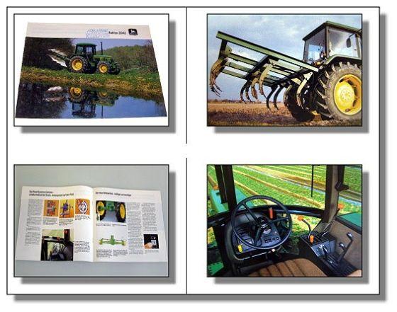 John Deere 2040 Traktor Schlepper Prospekt 1984