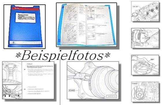 Reparaturleitfaden VW Golf 4 2,8l VR6 Einspritzmotor AQP AUE Werkstatthandbuch