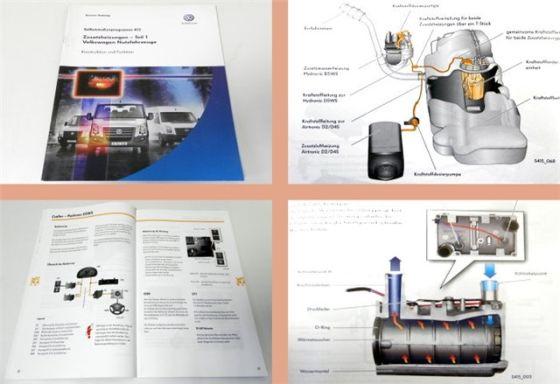 SSP 415 VW Crafter Zusatzheizung PTC D5WS D2 D4S Selbststudienpr