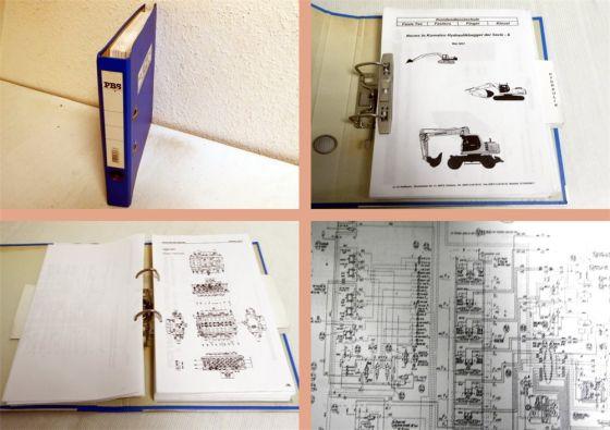 Werkstatthandbuch Schulung Komatsu Bagger PC210-6K PC240-6K PC29