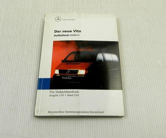 Mercedes Benz Transporter Vito 638 Verkaufstaschenbuch Stand 2/1