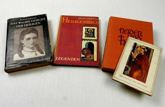 4 Bücher zu Helden und Heiligen Gestalt des Heiligen Legenden W. Schamoni