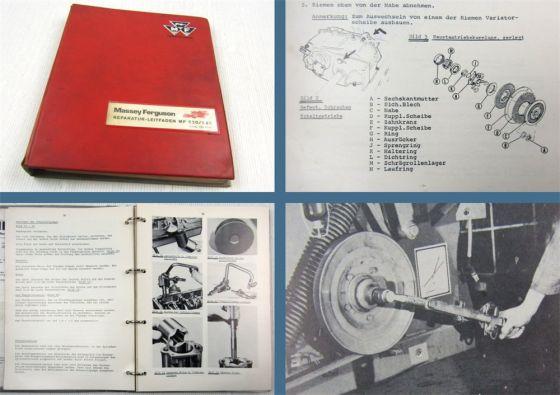 Werkstatthandbuch Massey Ferguson MF520 MF525 Reparaturhandbuch 1970er