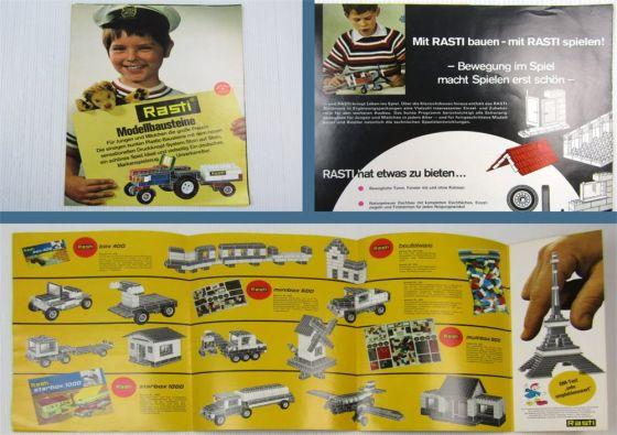 Rasti Modellbausteine BRD Modellspielwaren Plastikbausteine Reichartshausen