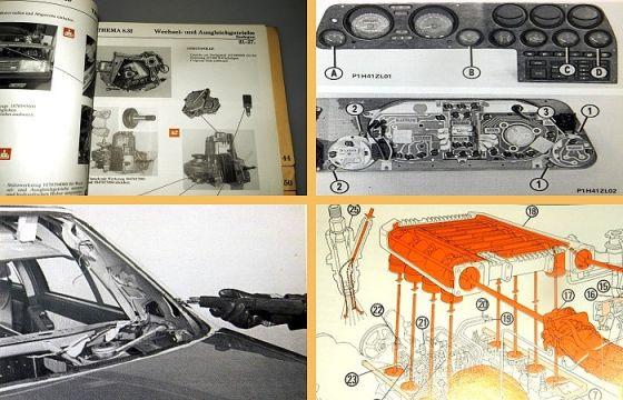 Werkstatthandbuch Lancia Thema 8.32 V8 mit Ferrari Motor Reparatur 1986 - 1988