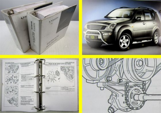 SSangYong Rexton I Service Manual 2003-2006 Engine Transmission Maintenance