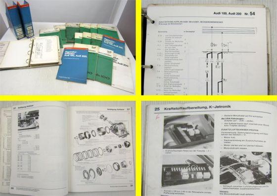 Reparaturleitfaden Audi 100 C2 Typ 43 Werkstatthandbücher Reparaturanleitungen