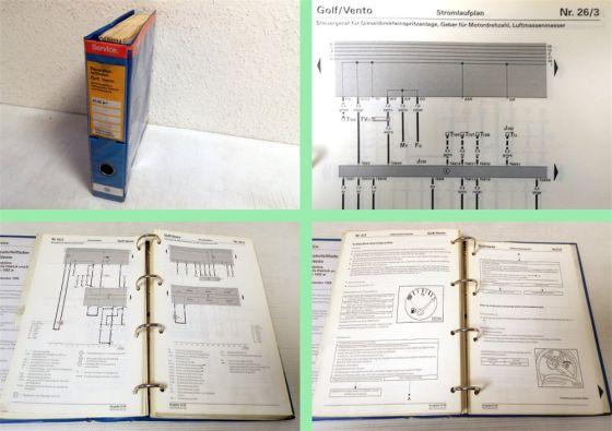 VW Golf 3 1H 1E Stromlaufpläne Schaltpläne Schaltplan Elektrik 1996 - 2000