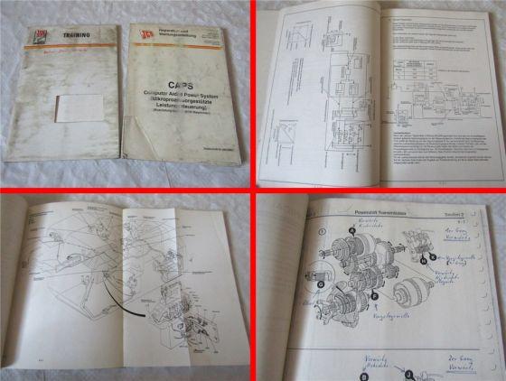 JCB CAPS Computer Aided Power System Reparaturanleitung Werkstatthandbuch