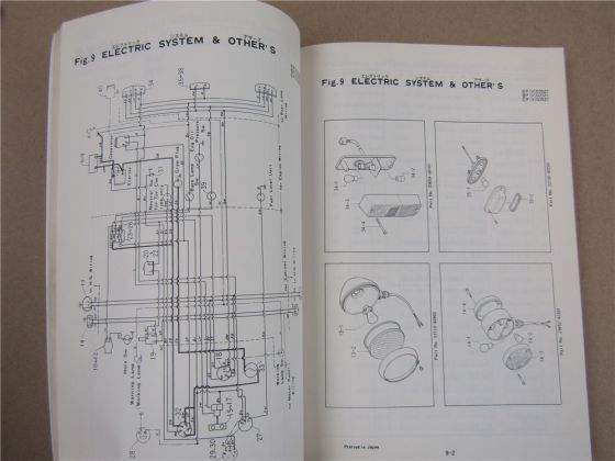 TCM FVD FD 20 23 25 ZI Stapler Forklift Truck Parts Manual Ersatzteilliste 1980