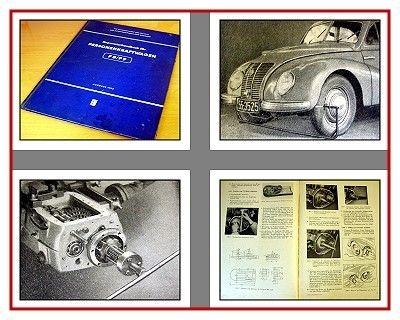 IFA F8 IFA F9 Werkstatthandbuch Reparaturhandbuch 1955