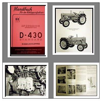 IHC Werkstatthandbuch für Traktor  D326 D-326 Mc Cormick