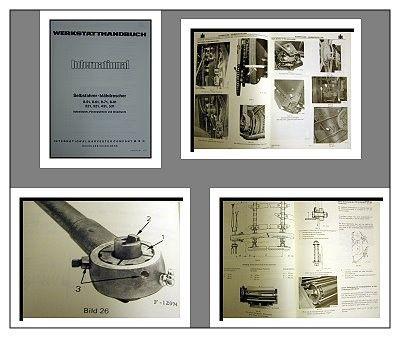 IHC 8-51 8-61 8-71 8-91 221 321 431 531 Mähdrescher Werkstatthandbuch