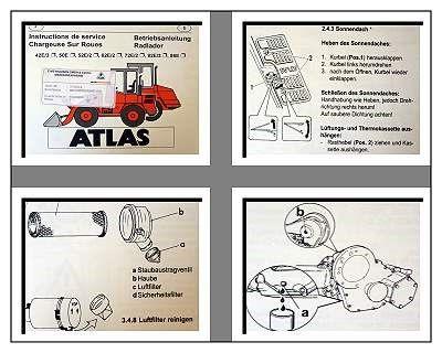 Atlas 42E/3 50E 52E/2 62E/2 ... 86E Betriebsanleitung