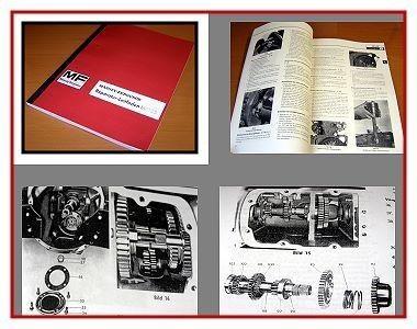 Reparaturanleitung Massey Ferguson MF 135 Werkstatthandbuch