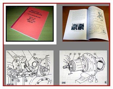 Drehstrom Lichtmaschine Reparaturanleitung Reparatur-Handbuch Reparaturbuch Buch