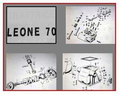 Same Leone 70 Ersatzteilkatalog 1967