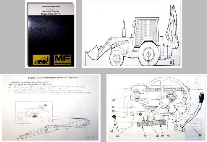 Massey Ferguson MF50H / HX / Allrad Serie S - Fachliteraturversand ...