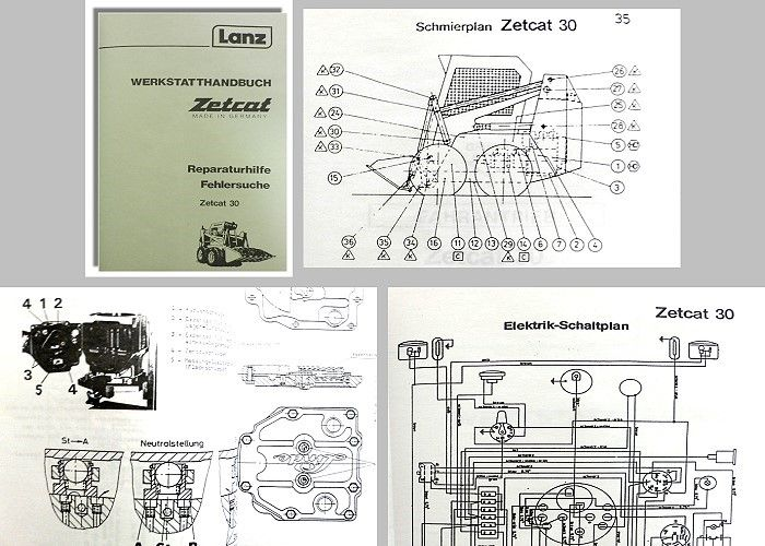 werkstatthandbuch lanz zetcat ll 30 radlader. Black Bedroom Furniture Sets. Home Design Ideas