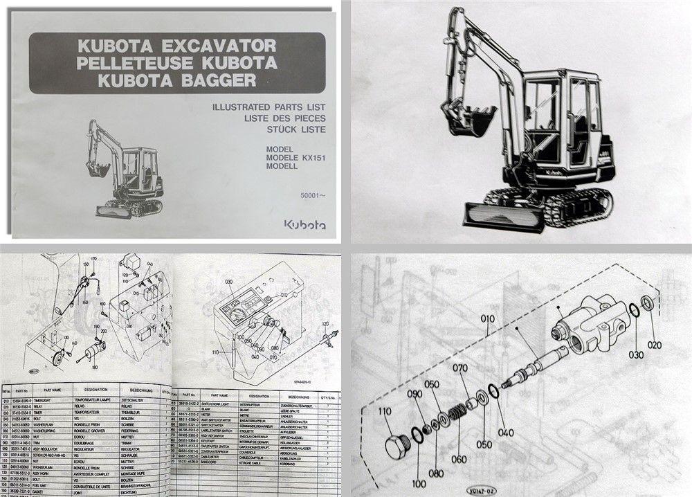 Kubota - Fachliteraturversand An- u. Verkauf Werkstatthandbuch ...