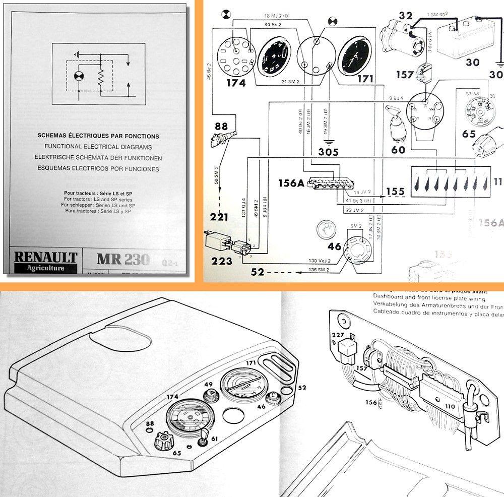 reparaturanleitung renault ls sp traktor werkstatthandbuch. Black Bedroom Furniture Sets. Home Design Ideas