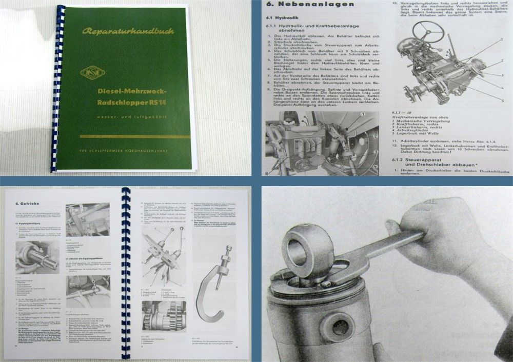 Rs 1430 Rs 1436 Famulus Werkstatthandbuch 196263