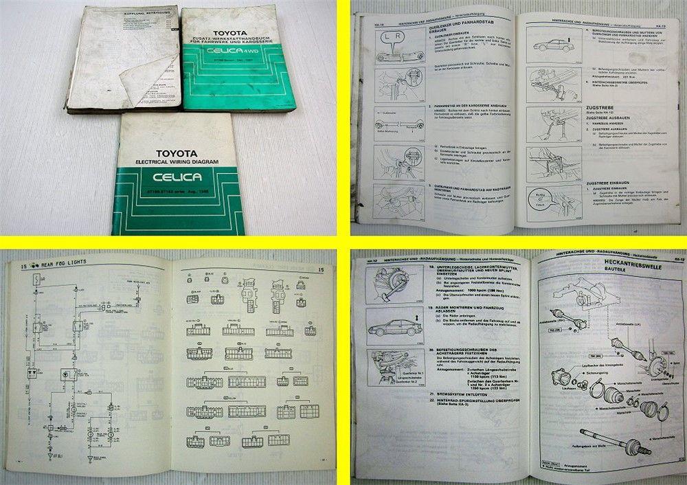 Toyota Celica At160 St162 Werkstatthandbuch Electrical