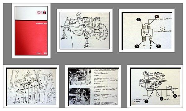 Werkstatthandbuch Case 4210 4220 4230 4240 Schaltpläne ...