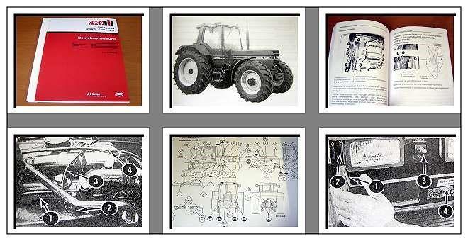 1056 1056 XL 956XL IHC Bedienungsanleitung für Traktor 956
