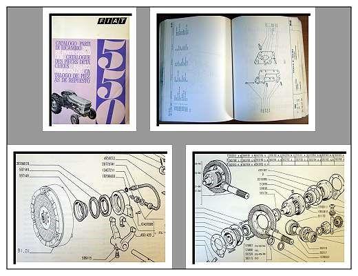fiat 550 traktor ersatzteilkatalog 1969. Black Bedroom Furniture Sets. Home Design Ideas