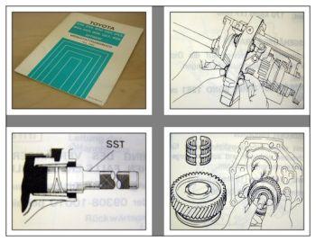 Toyota Getriebe G40 G45 G50 G52 G54 G55 - G58 Werkstatthandbuch Land Cruiser J7