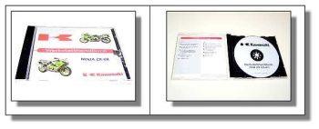 Werkstatthandbuch Kawasaki Ninja ZX-6R, ZX636 A1 Reparaturanleitung 2001