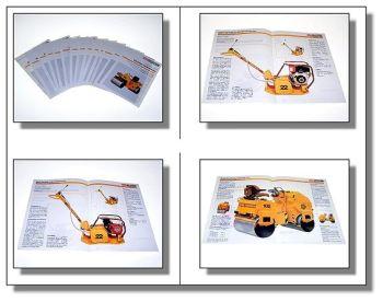 Case Vibromax Walzen Vibrationsplatten Rüttelplatte 14 Prospekte Baumaschinen